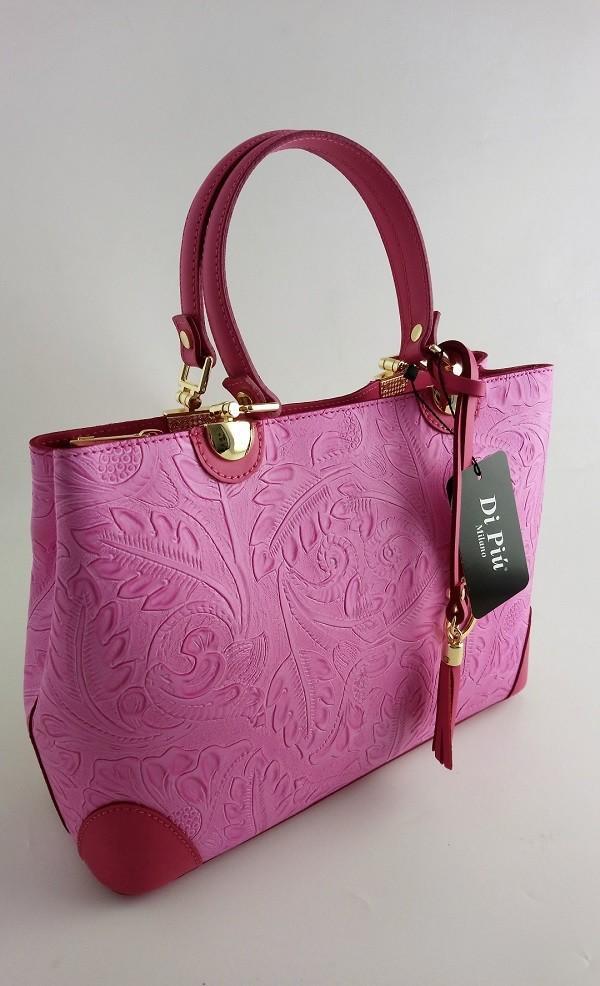 Bolso rosa di piu milano