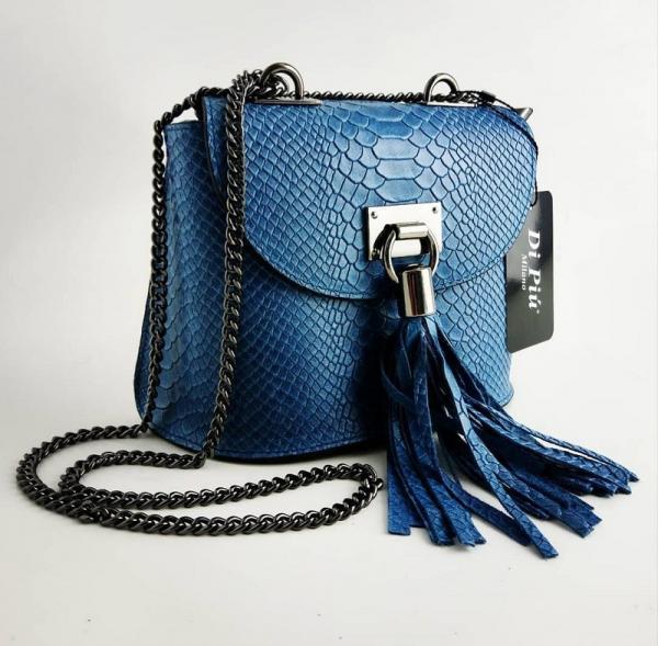 Bolso bandolera de Di Piu Milano modelo Lexie Blue