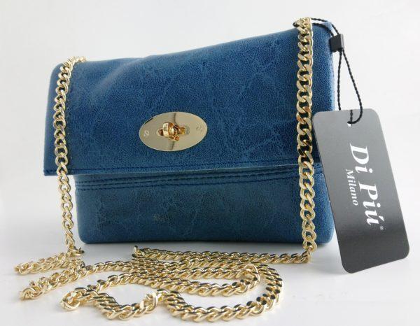 bolso de piel tamaño pequeño- Di Piu Milano